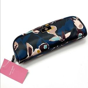 Kate Spade Dawn Paper Rose pencil or cosmetic case